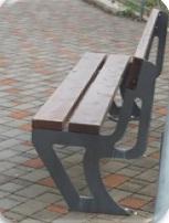 Παγκάκι Π13- Με πλάτη