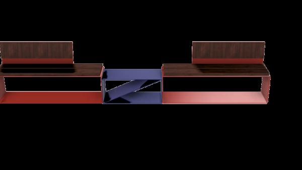 Παγκάκι Π25- Με πλάτη