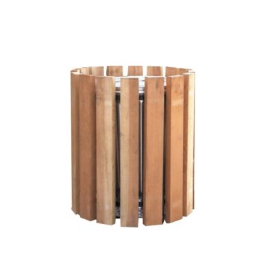 Κάδος απορριμμάτων, Κάδος με ξύλα, κάδος επιδαπέδιος, κάδος μικτής κατασκευής