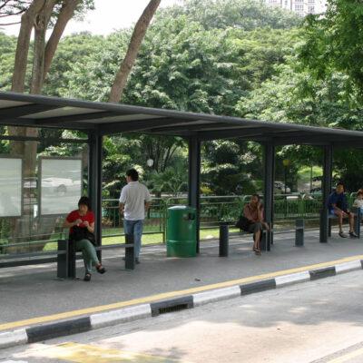 Στάση λεωφορείου Τύπου Γ 105