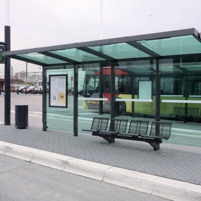 Στάση λεωφορείου Τύπου Β 107