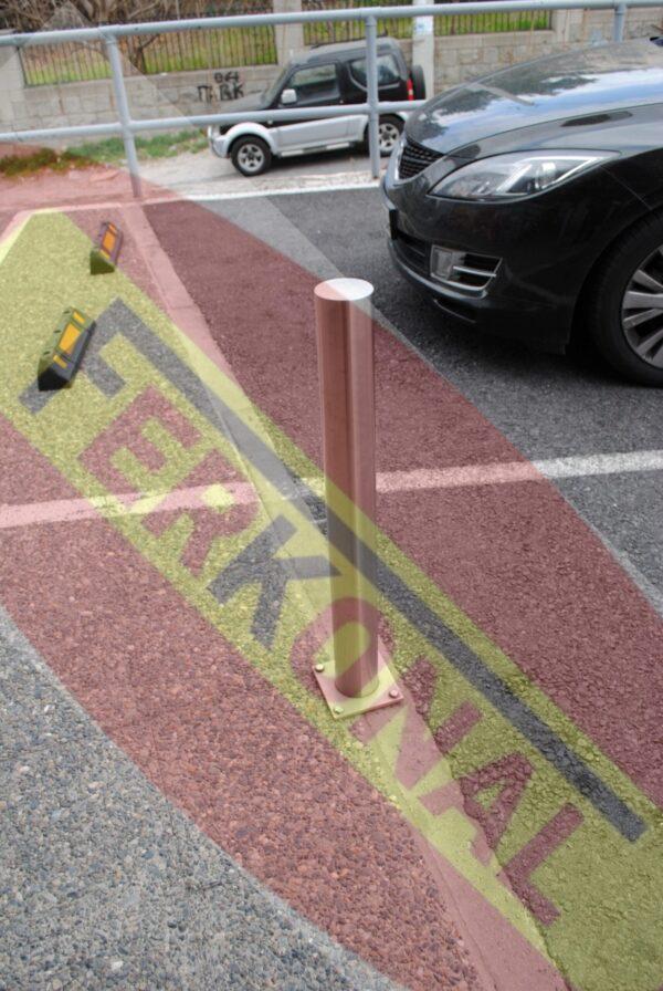 Αποτρεπτικό εμπόδιο στάθμευσης