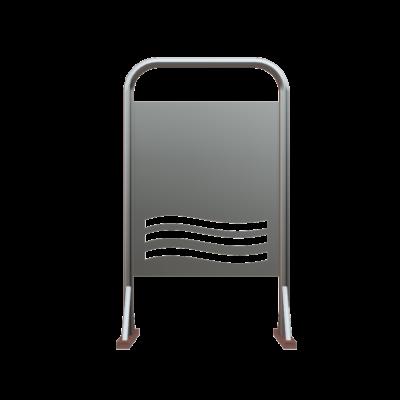 Κινητό εμπόδιο πληροφοριακή πινακίδα