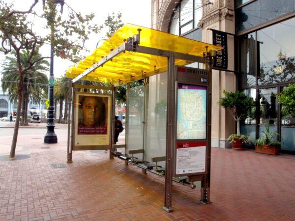 Στάση λεωφορείου Τύπου Α 115